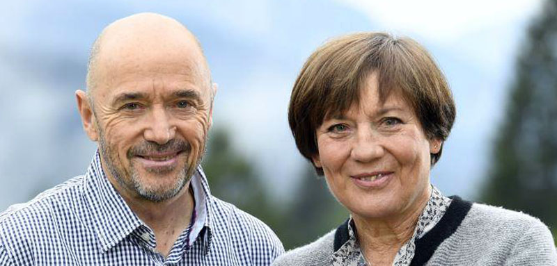 Christian Neureuther und Rosi Mittermeier