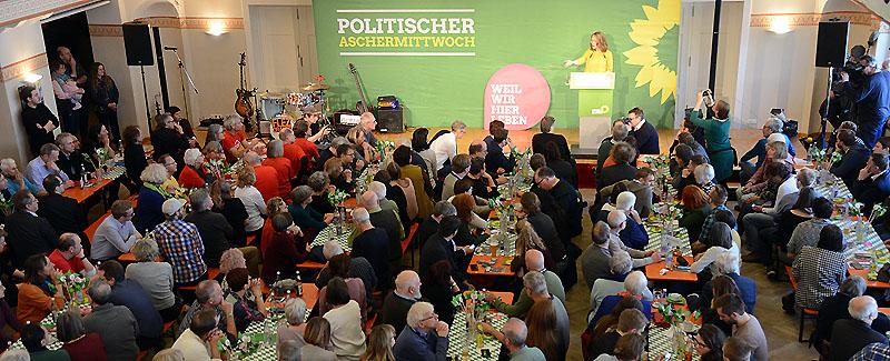 Grüne Aschermittwoch Eva Lettenbauer