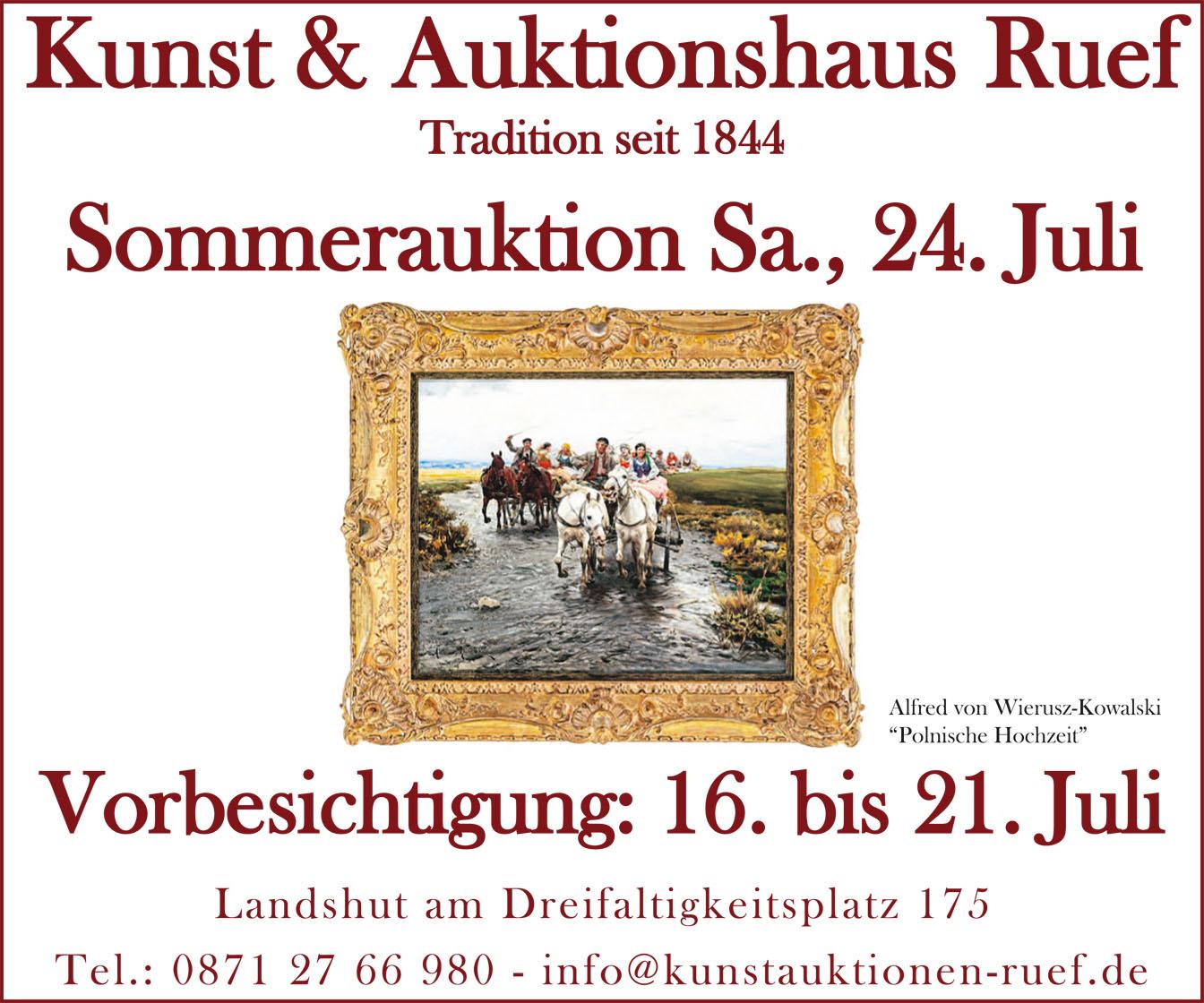 Kunst & Auktionshaus Ruef Landshut
